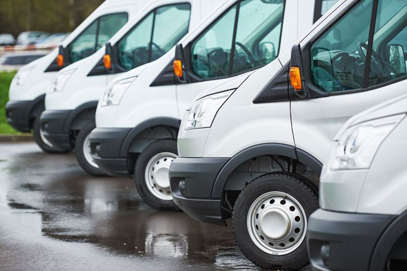 fleet of commercial vans, risk mitigation tips for fleet managrs